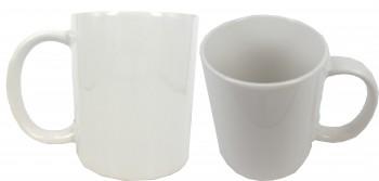 белая чашка под сублимационную печать